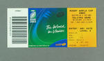 Rugby union match ticket - Australia v Ireland, 2003 Rugby World Cup