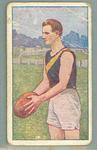 1922 Magpie Cigarettes Victorian League Footballers George Bayliss trade card