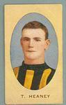 1909-10 Standard Cigarettes Australian Footballers Thomas Heaney trade card