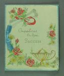 Card from Vera Sheraton to Shirley Strickland, 29 Nov 1956