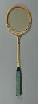Squash racquet, used by Barbara Baxter c1966