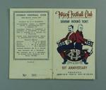 Fitzroy Football Club Souvenir Patron's Ticket, 1945