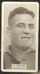 1933 W D & H O Wills Footballers Horrie Mason trade card