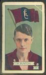 1934 Allen's League Footballers Haydn Bunton trade card