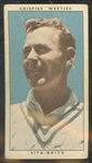 1948 Cereal Foods Leading Cricketers Arthur Morris trade card