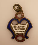 Melbourne Cricket Club membership medallion, season 1917/18