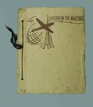 Scrap book with material relating to lacrosse, c1956