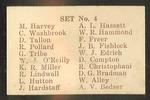1946-47 Australian Cricketers trade card checklist