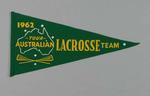 Pennant, 1962 Australian lacrosse team tour
