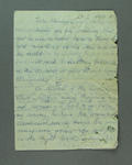 Letter from Veronika Neszmelyi to Shirley Strickland, 24 January 1957