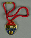 Melbourne Cricket Club membership badge, season 1967/68