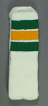 Lacrosse socks provided to Thomas Hardy for the 1986 Lacrosse World Championships
