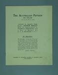 Magazine, contains caricatures of Australian cricket team 1920-21