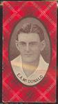 1921 McIntyre Bros Australian Champion Eleven 1920-21 E A McDonald trade card
