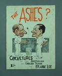 Book, Caricatures of Australian & English cricketers - 1936-37