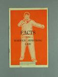 """Booklet, """"Facts in the Warwick Armstrong Case"""""""