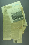 Newspaper clippings, associated with cricket c1928-37
