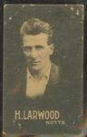 1932-33 Australian Licorice Pty Ltd Cricketers H Larwood trade card