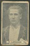 1932/33 Sweetacres Cricketers H Larwood trade card