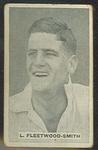 1932/33 Sweetacres Cricketers L Fleetwood-Smith trade card