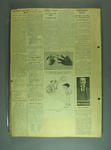 Scrapbook, contains newspaper clippings related to cricket c1925
