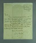Letter regarding loan of cricket newsclipping scrapbooks, 15 Oct 1941