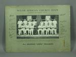 Photograph of South African cricket team in Australia, 1931-32