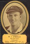 Card cut-out depicting W J O'Reilly, c1934