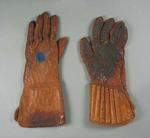 A pair of Wicket Keeping Gloves worn by John McCarthy Blackham