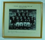 Photograph of Victorian Junior Lacrosse Team, 1962