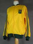 Australian team tracksuit top, worn by Shirley Strickland at 1976 Olympic Games