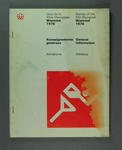 Book, 1976 Olympic Games General Athletics Information