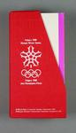 Ten regulation booklets, 1988 Calgary Olympic Winter Games