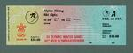 Ticket - Alpine Skiing, 14 February 1988, Calgary Winter Olympic Games