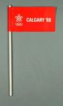 Flag - ' Calgary '88' - XV Winter Olympic Games