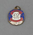 Melbourne Cricket Club country membership medallion, season 1939-40