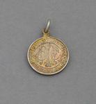 Melbourne Cricket Club country membership medallion, season 1945-46
