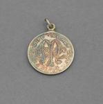 Melbourne Cricket Club country membership medallion, season 1942-43