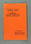 Booklet, Favourite Recipes of Australian Sporting Personalities