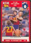 1991 Stimorol Australian Football Brett Stephens trade card
