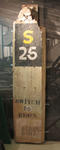 Concrete sign, MCG - Southern Stand - RAAF Occupation c1940s