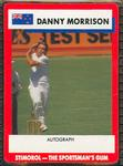 1990 Stimorol Cricket Stumpers Competition Danny Morrison trade card