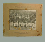 Black and white photograph of English Eleven 1903-04
