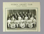 Photograph of Fitzroy Cricket Club, 1938-39