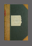"""Minute book, """"The Chronicles of the McConchie Cricket Club"""" 1908-37"""