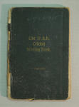 Score book:   McConchie Cricket Club - 1924-25 season