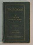 Score book:  McConchie Cricket Club - 1933-34 season