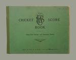 Score book:  McConchie Cricket Club - 1937-38 season
