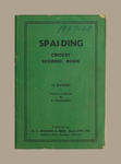 Score book, McConchie Cricket Club - 1947-48 season