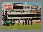 Photograph of MCC Ground Staff  personnel on the MCG